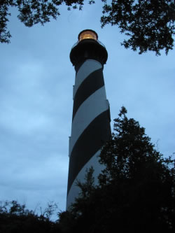 St. Augustine Light House and Museum : Dark of the Moon Tour
